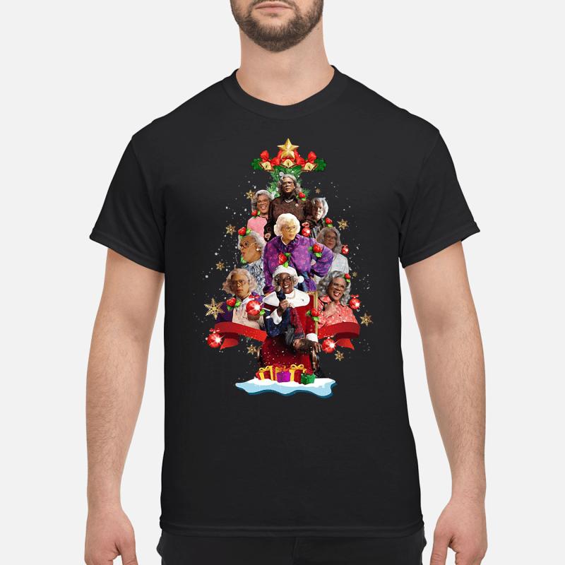 Madea's Family Reunion Christmas tree Guys shirt