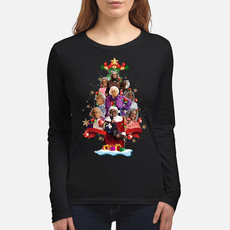 Madea's Family Reunion Christmas tree Longsleeve tee