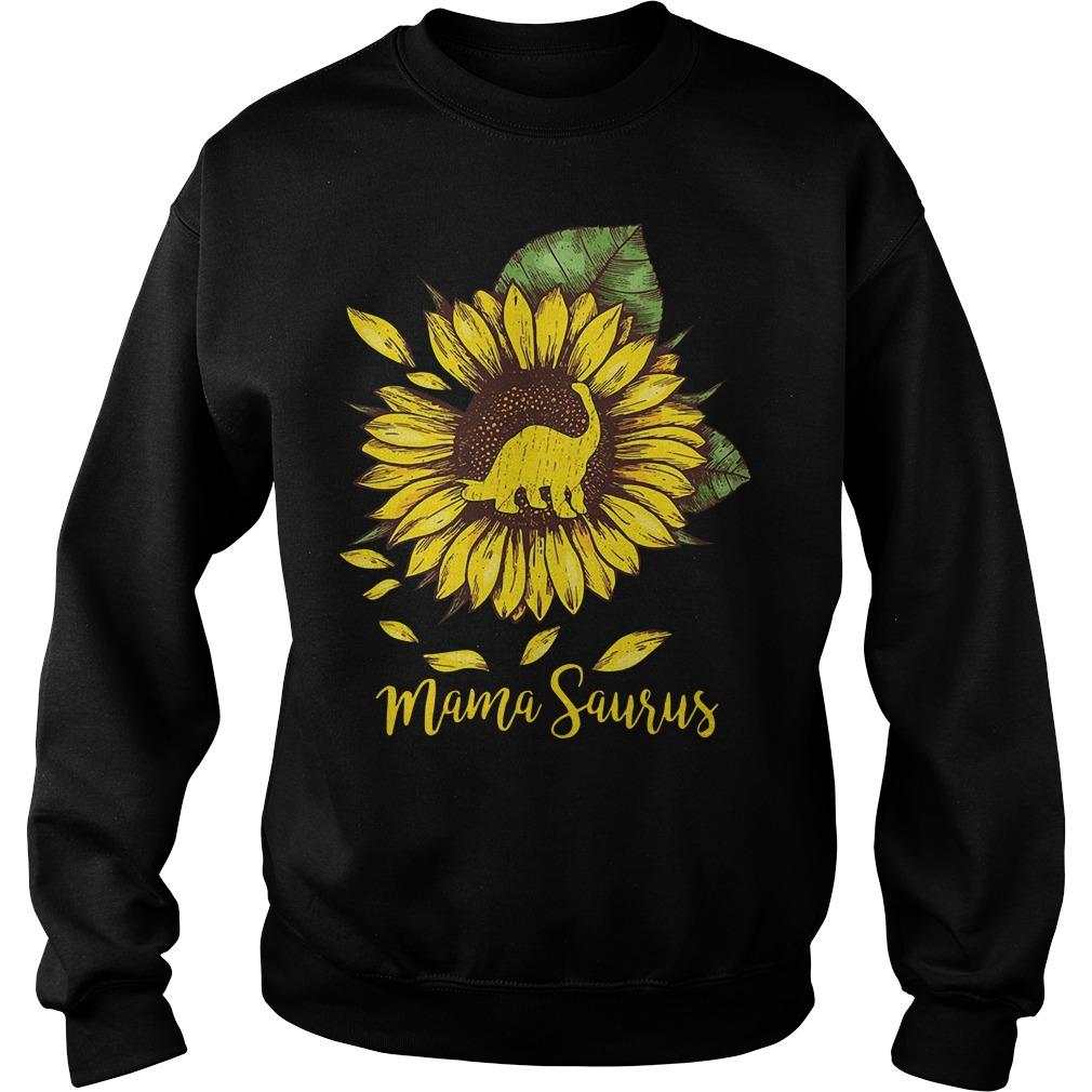 Mama Saurus Sunflower Sweater
