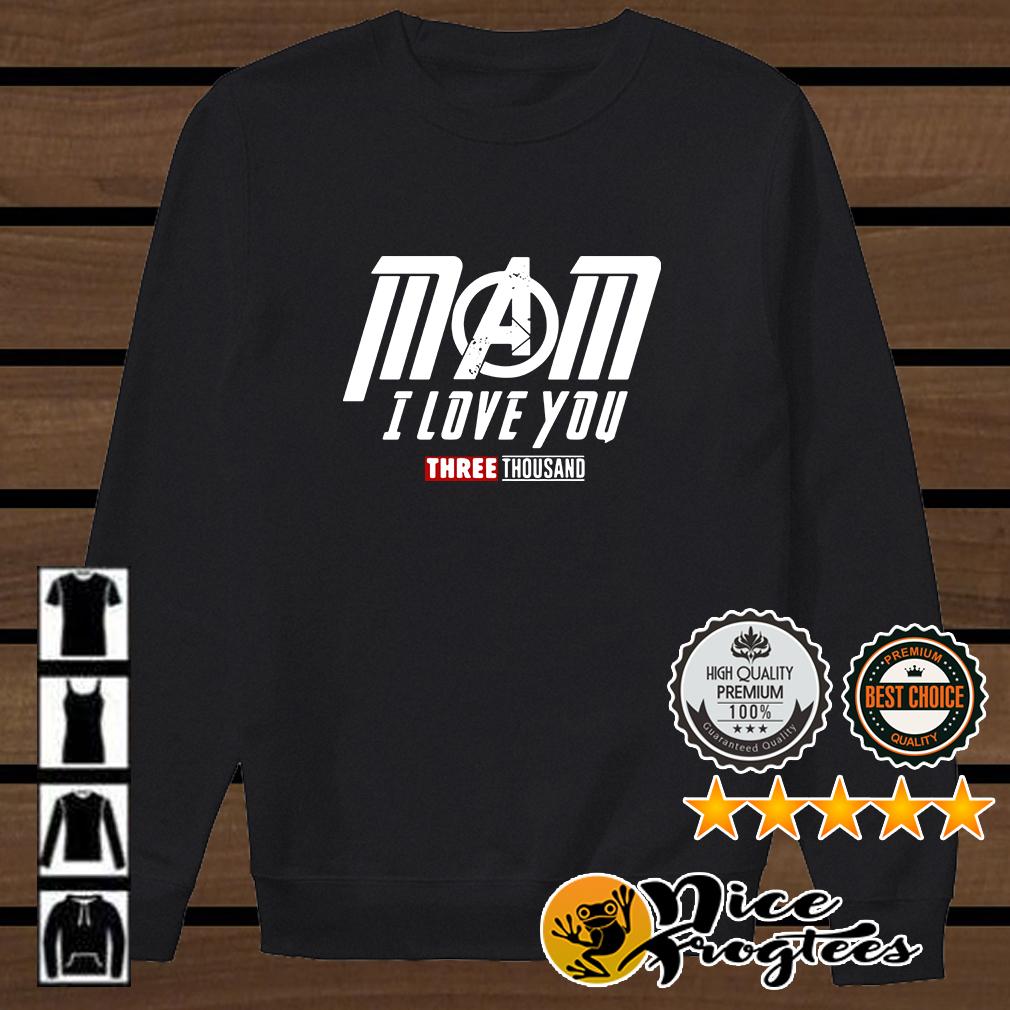 Marvel Avengers Endgame Mom I love you three thousand shirt