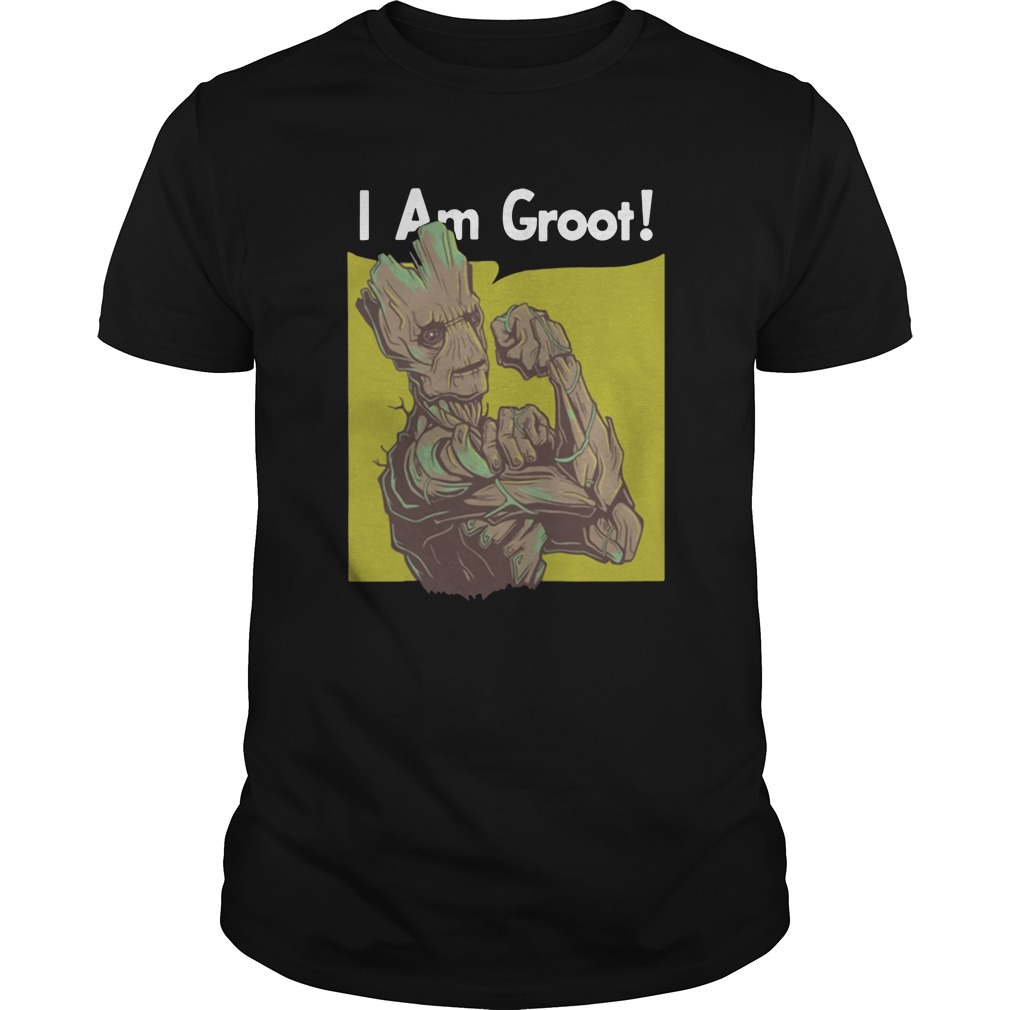 Marvel Infinity War I am Groot shirt