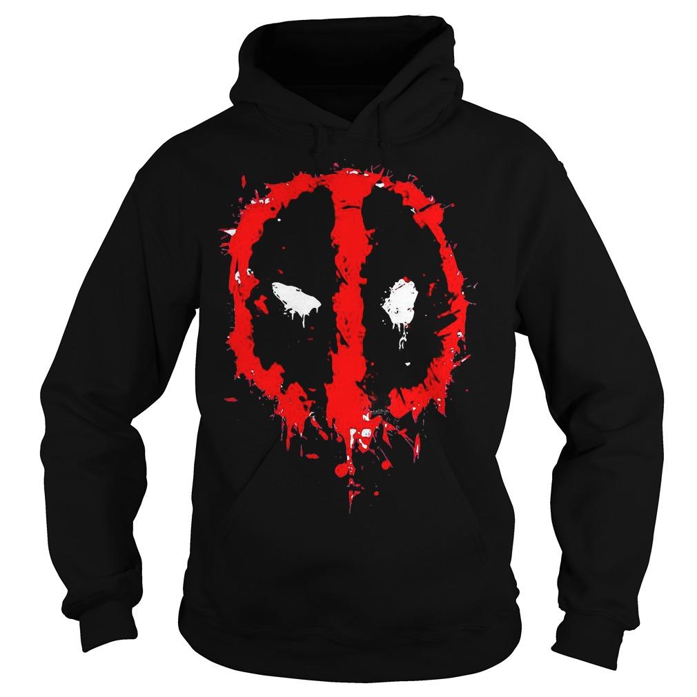 Marvel Deadpool Splatter Icon Hoodie