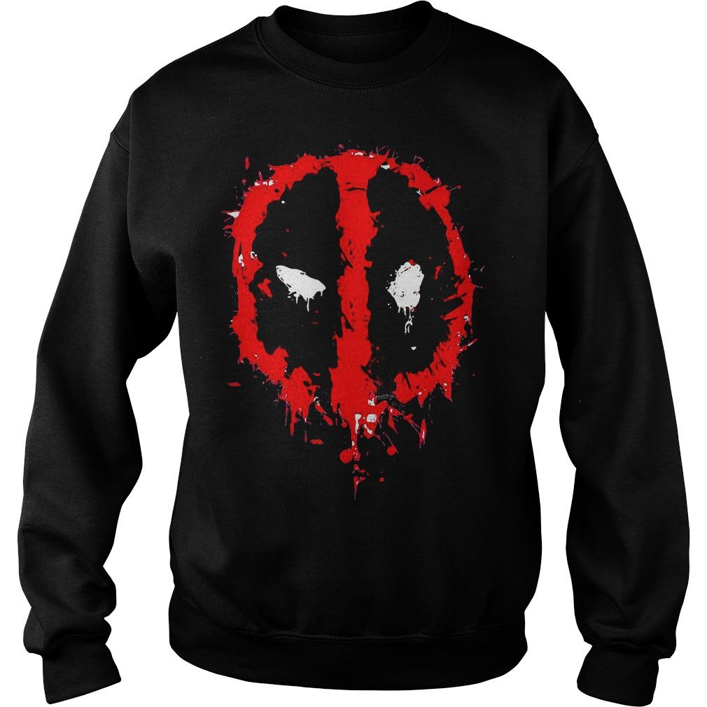 Marvel Deadpool Splatter Icon Sweater