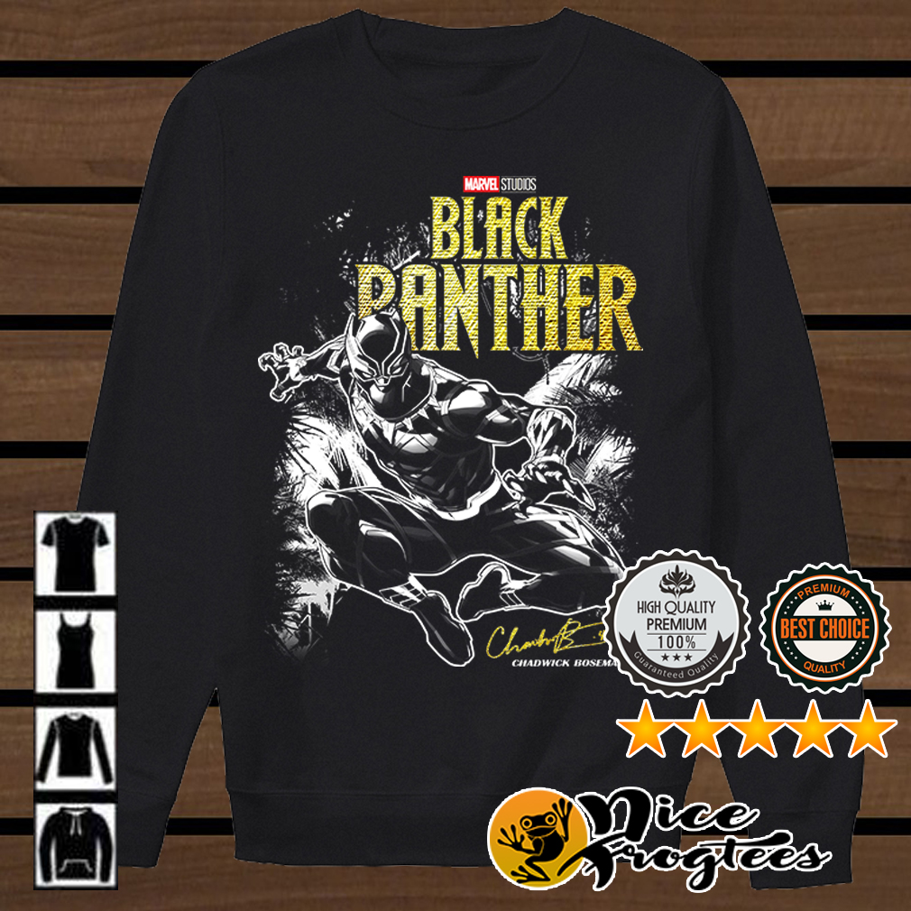 Marvel studio Black Panther Jungle Silhouette shirt
