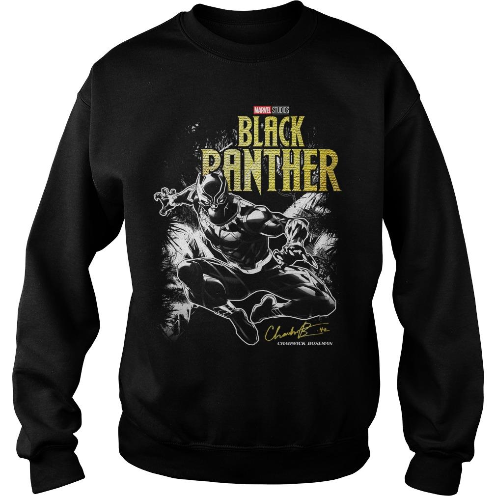 Marvel studio Black Panther Jungle Silhouette Sweater