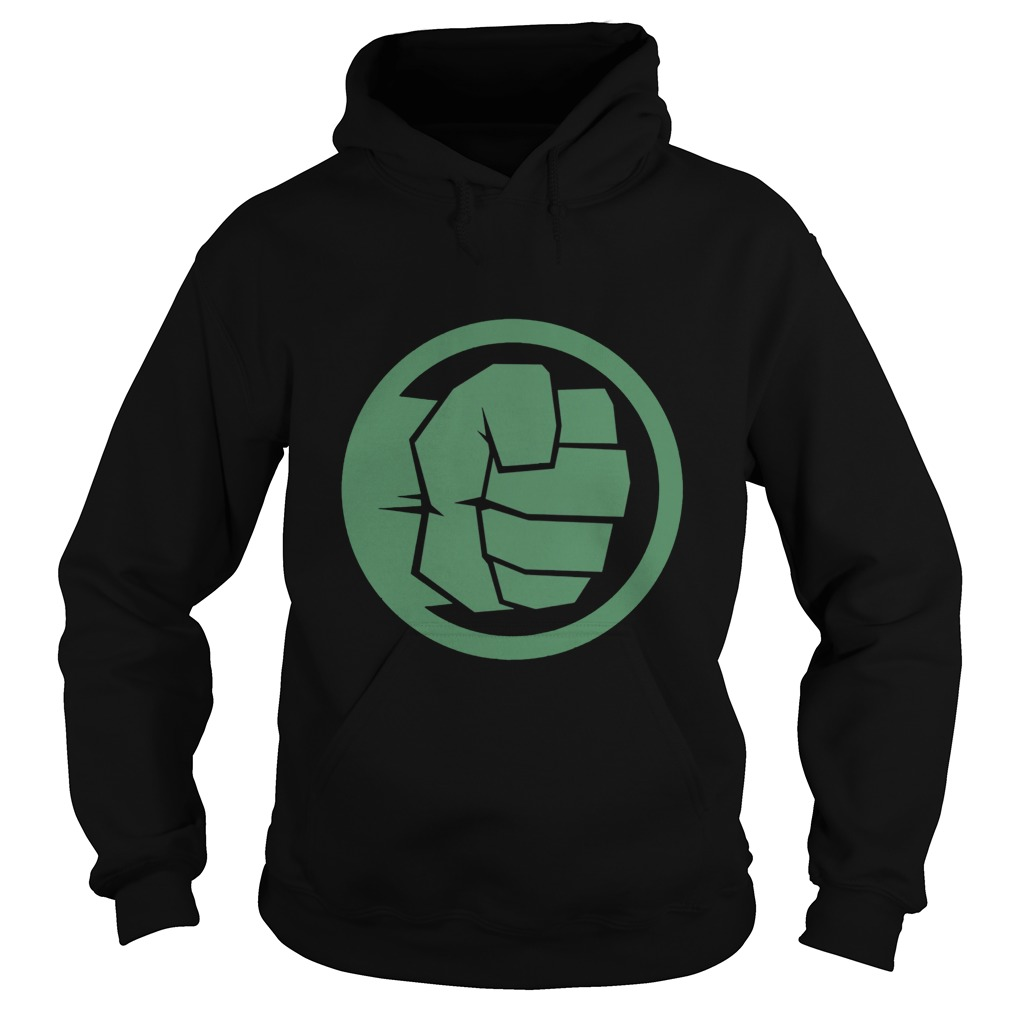 Marvel Thor Ragnarok Hulk Fist Tonal Icon Graphic Hoodie