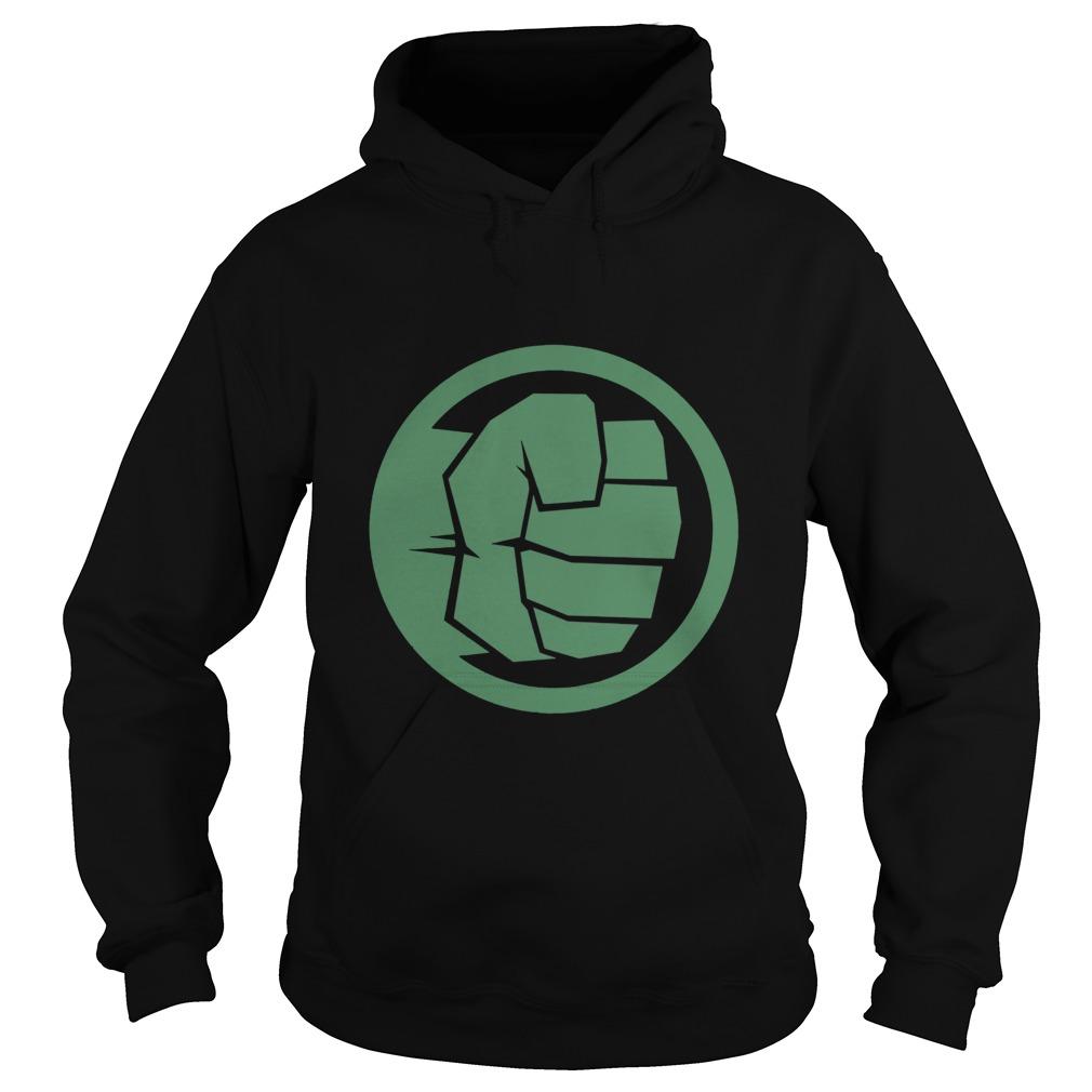 Marvel Thor Ragnarok Hulk Fist Tonal Icon Graphic Hoodie