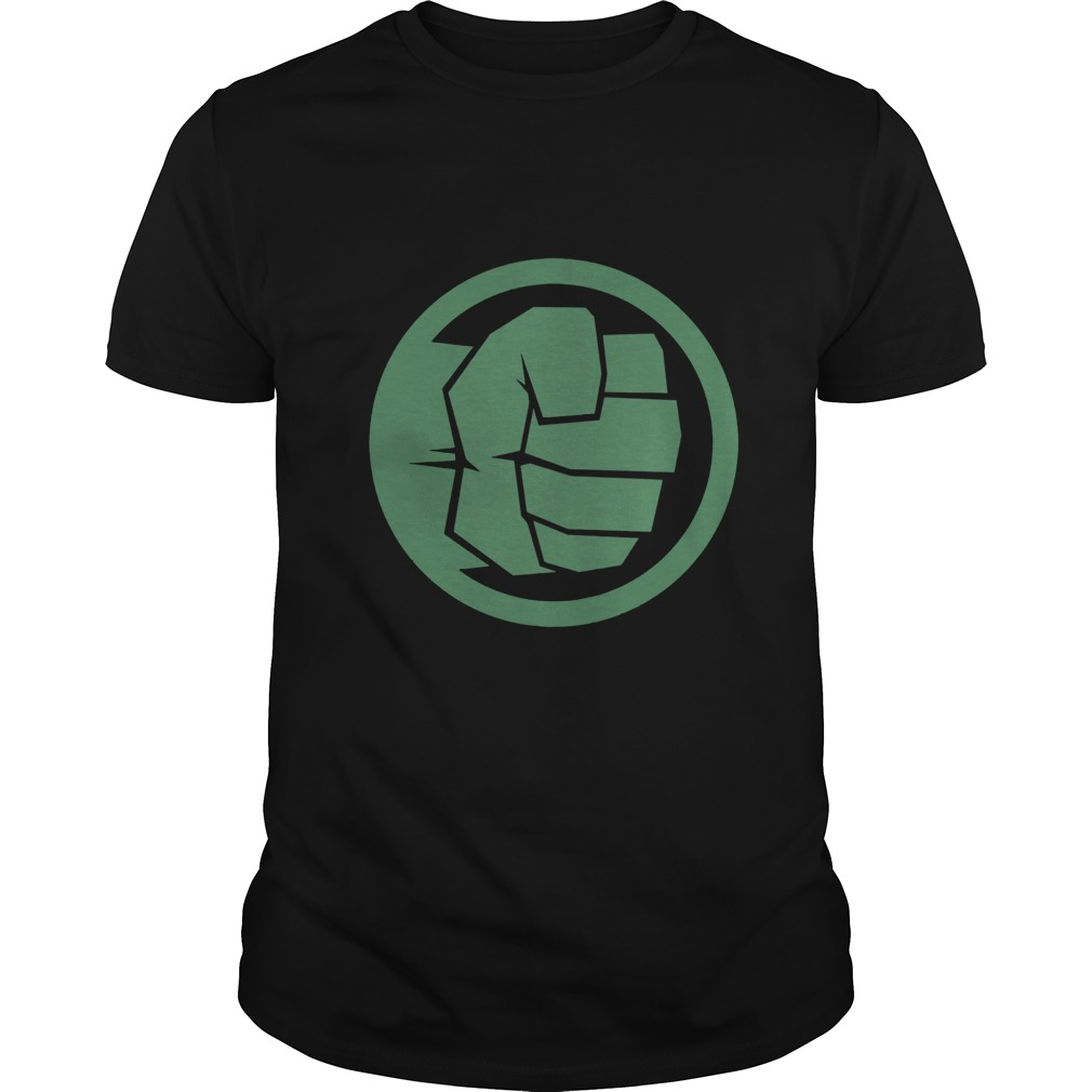 Marvel Thor Ragnarok Hulk Fist Tonal Icon Graphic Shirt