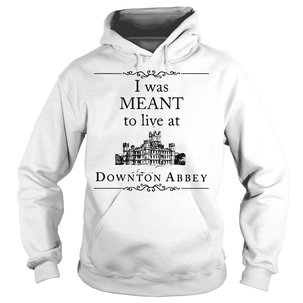 I was meant to live at Downton Abbey Hoodie