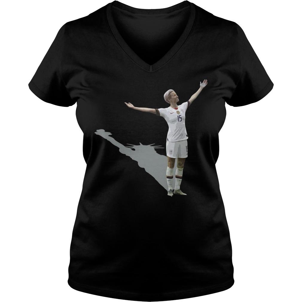 Megan Rapinoe 15 V-neck t-shirt