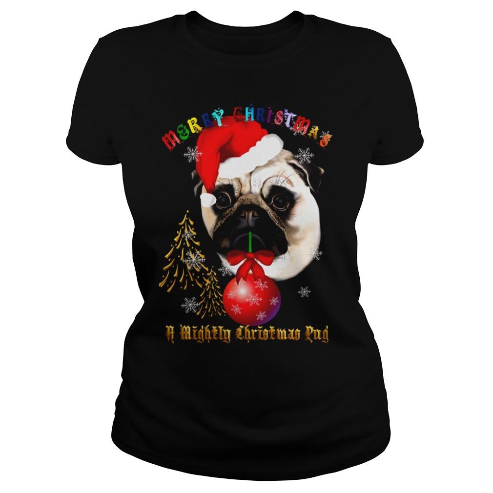 Merry Pug ugly Christmas sweater, shirt, hoodie and ...