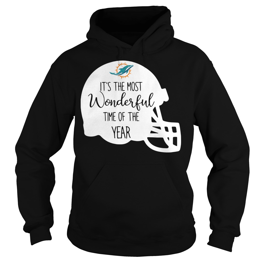 Miami Dolphins It's the most wonderful time of the year Hoodie