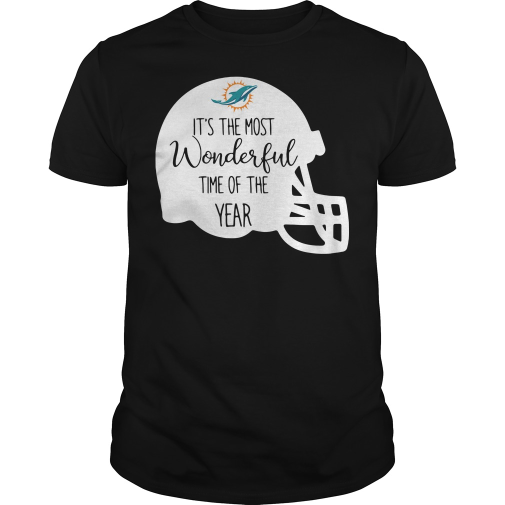 Miami Dolphins It's the most wonderful time of the year shirt