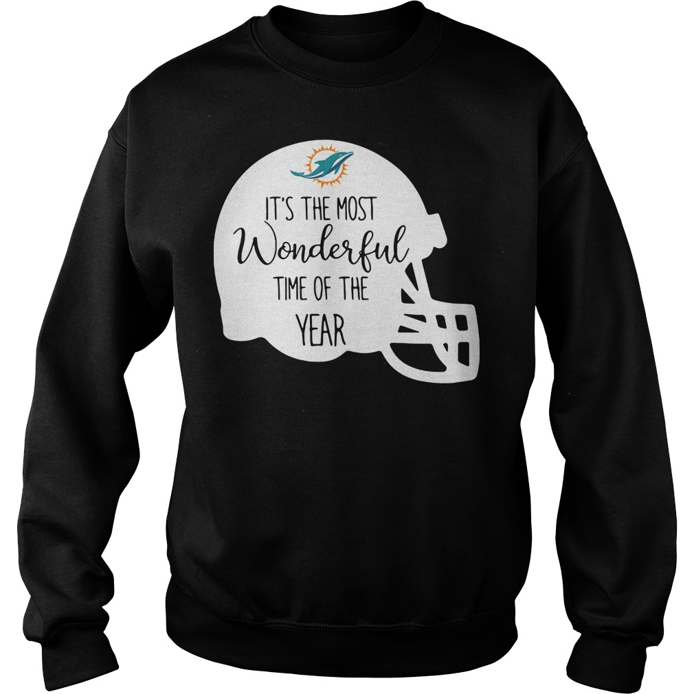 Miami Dolphins It's the most wonderful time of the year Sweater