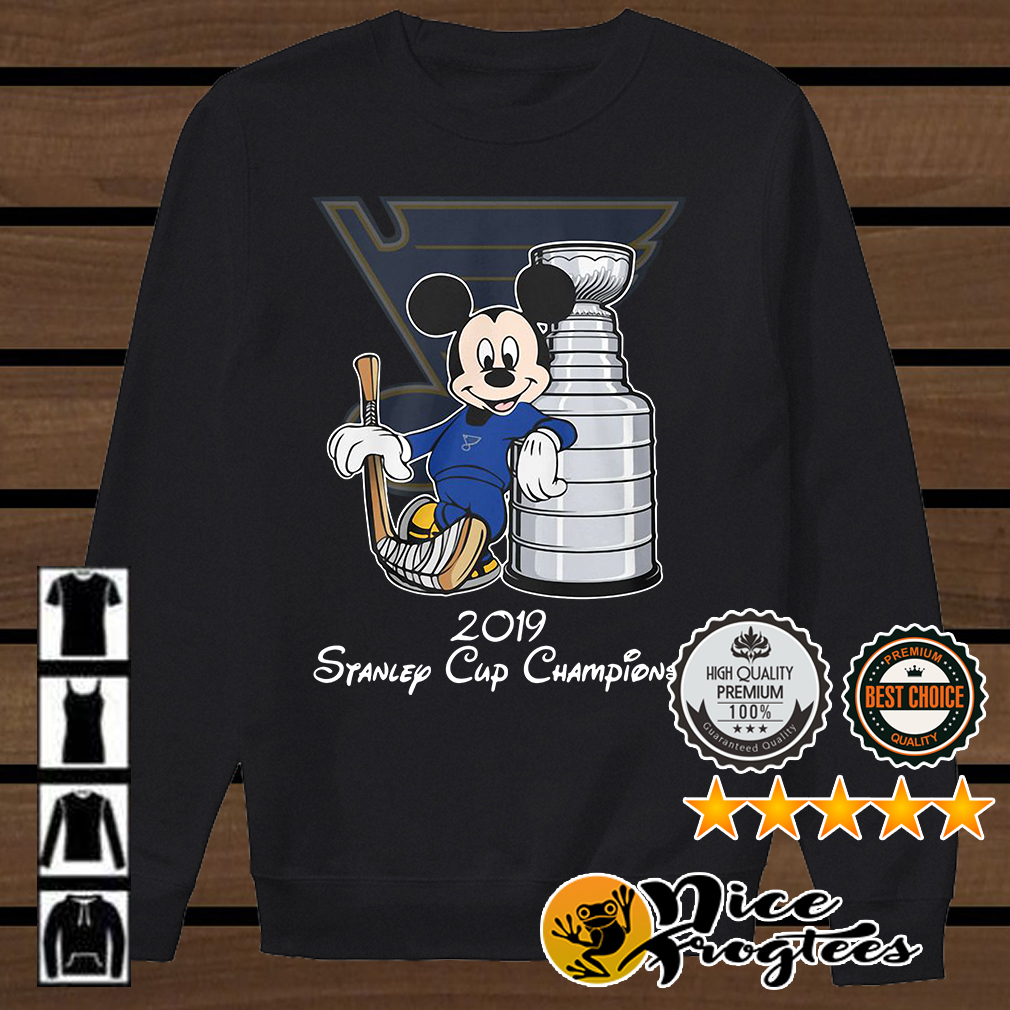 Mickey Mouse Stanley Cup Champions 2019 shirt