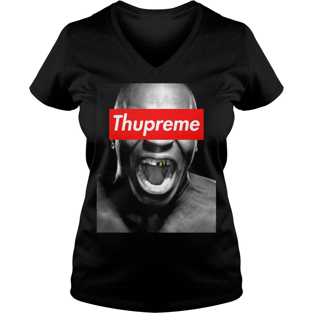 Mike Tyson Thupreme V-neck t-shirt