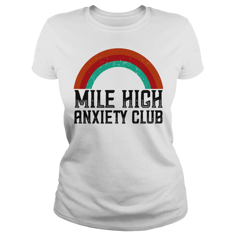 Mile High Anxiety Club Ladies tee