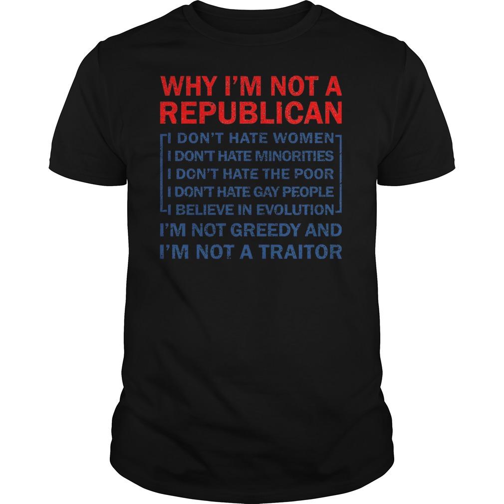 Miley Cyrus: why i'm not a republican shirt