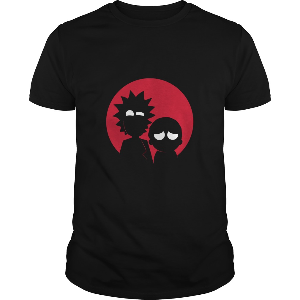 Minimalist Characters - Rick and Morty shirt