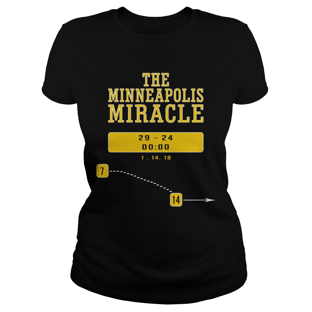 The minneapolis miracle Ladies tee