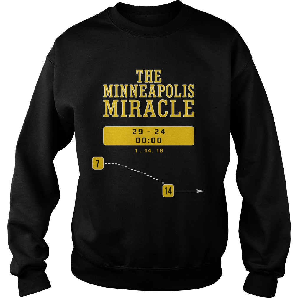 The minneapolis miracle Sweater