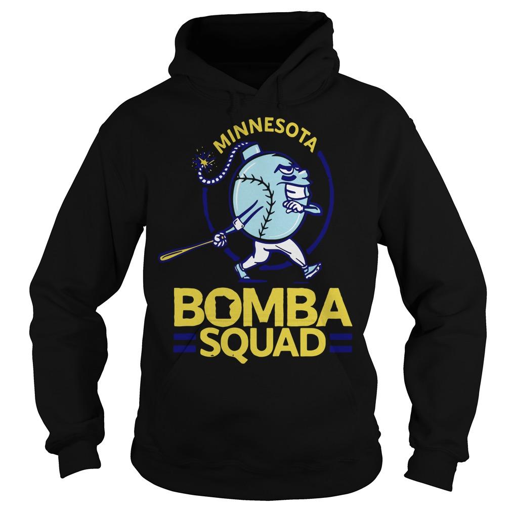 Minnesota Bomba Squad Minnesota Twins Hoodie