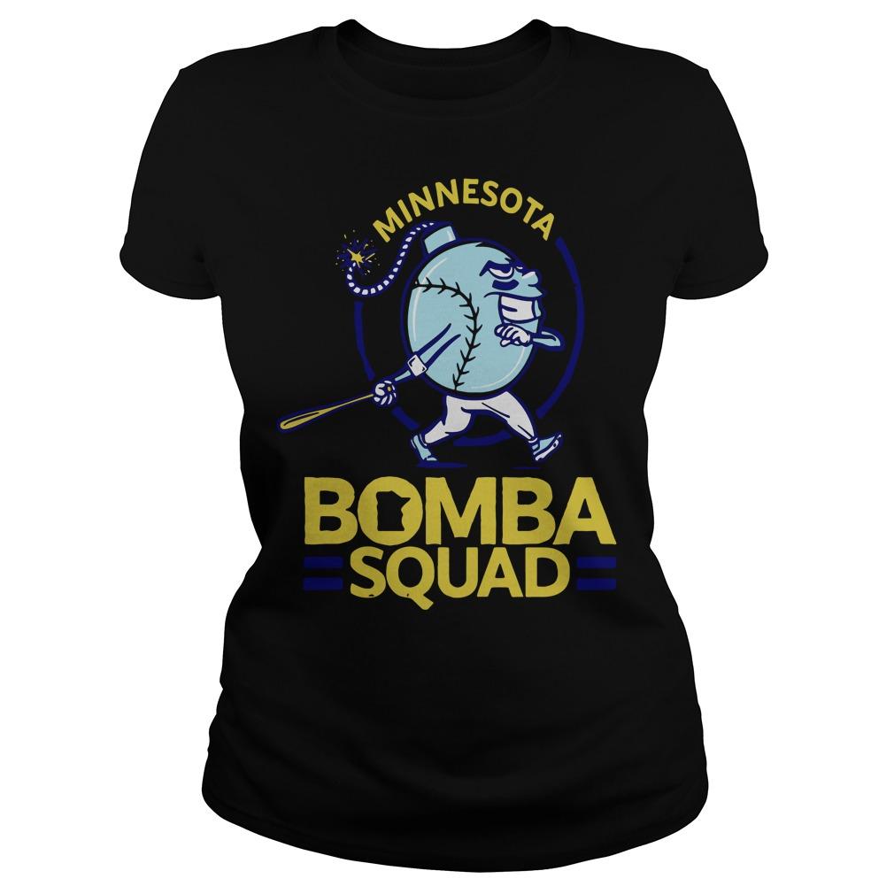 Minnesota Bomba Squad Minnesota Twins Ladies tee
