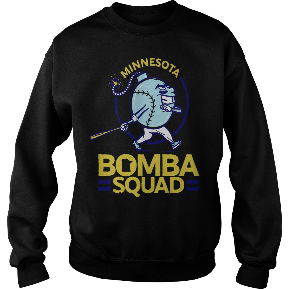 Minnesota Bomba Squad Minnesota Twins Sweater