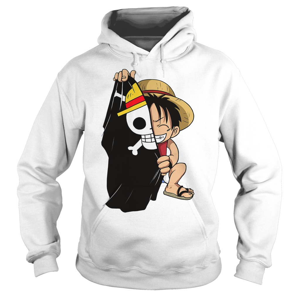 Monkey D Luffy Flag One Piece Men's Hoodie