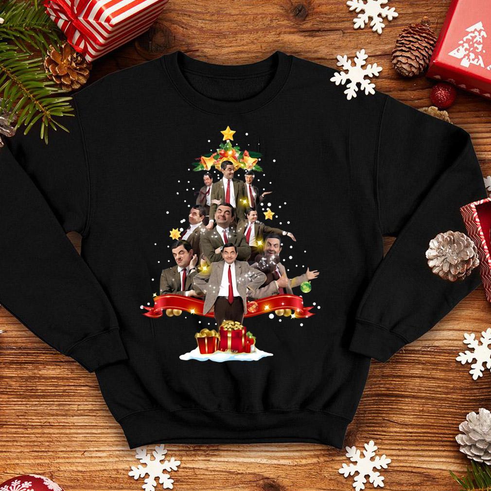 Mr Bean Christmas tree sweater