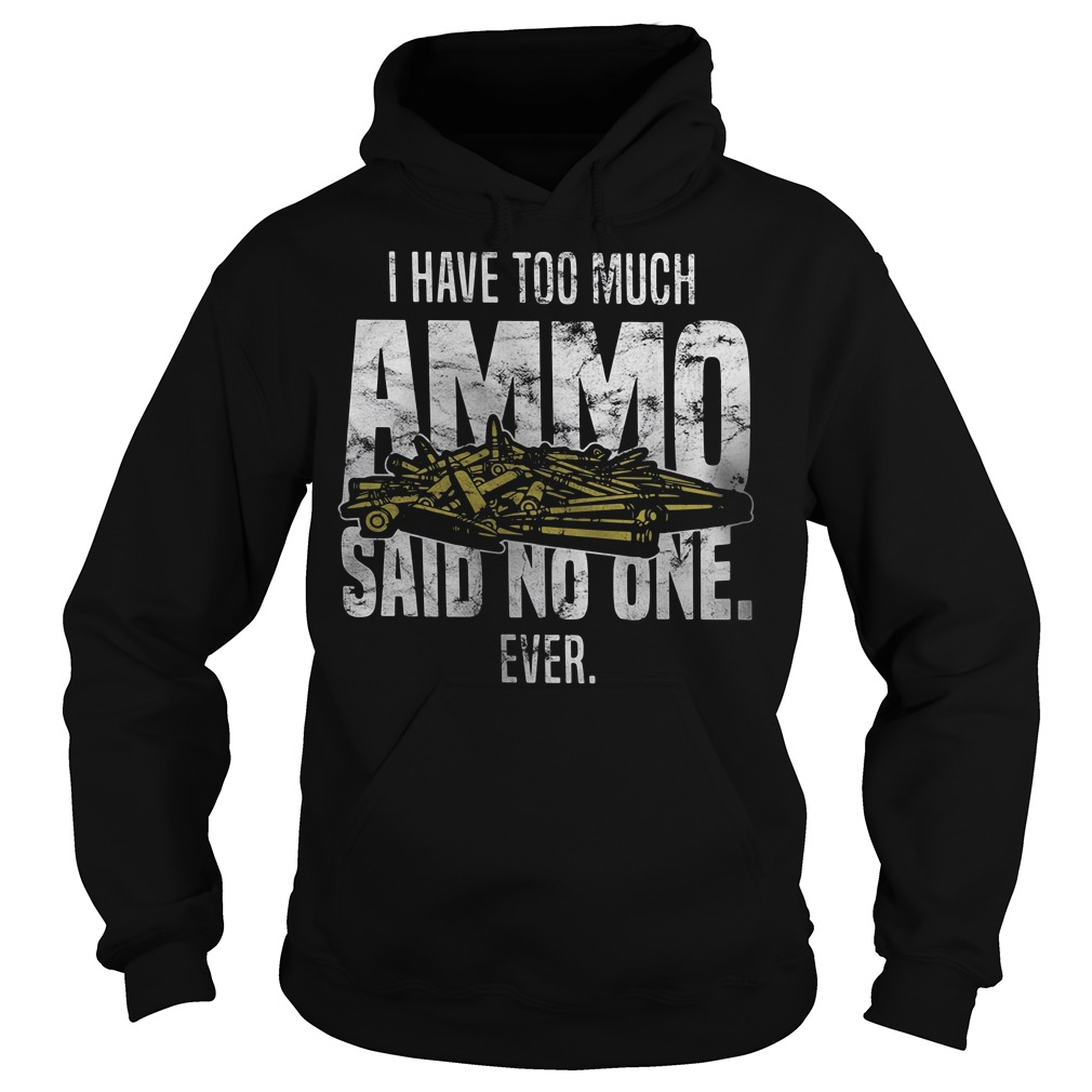 I have too much Ammo said no one ever Hoodie