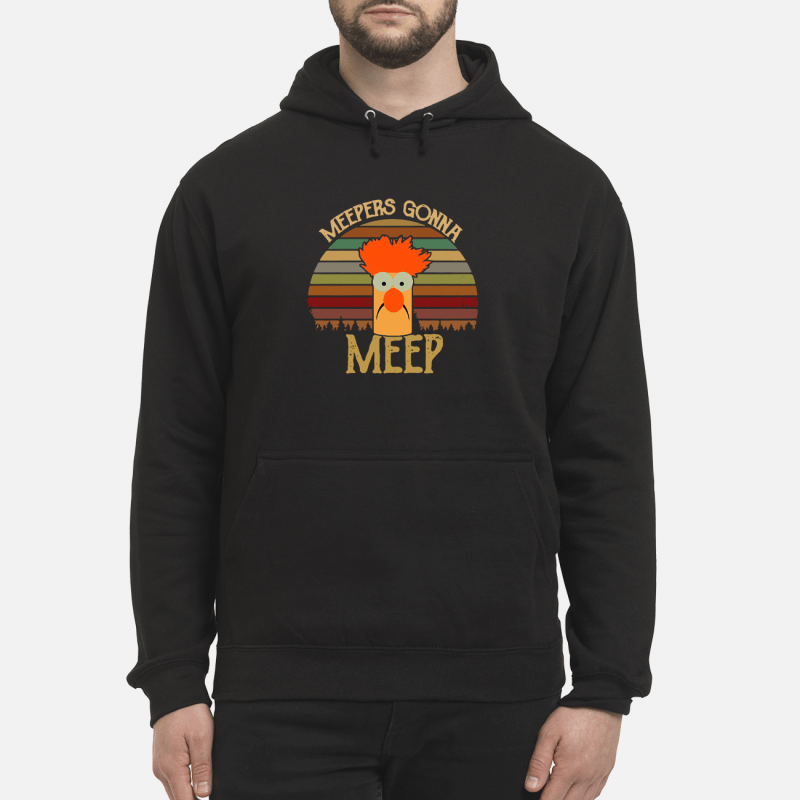 The Muppet Show Beaker meepers gonna meep retro Hoodie