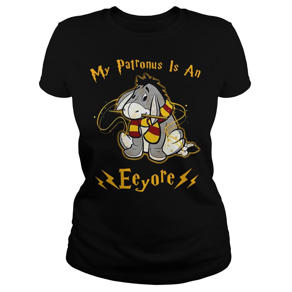 My Patronus is an Eeyore Ladies Tee
