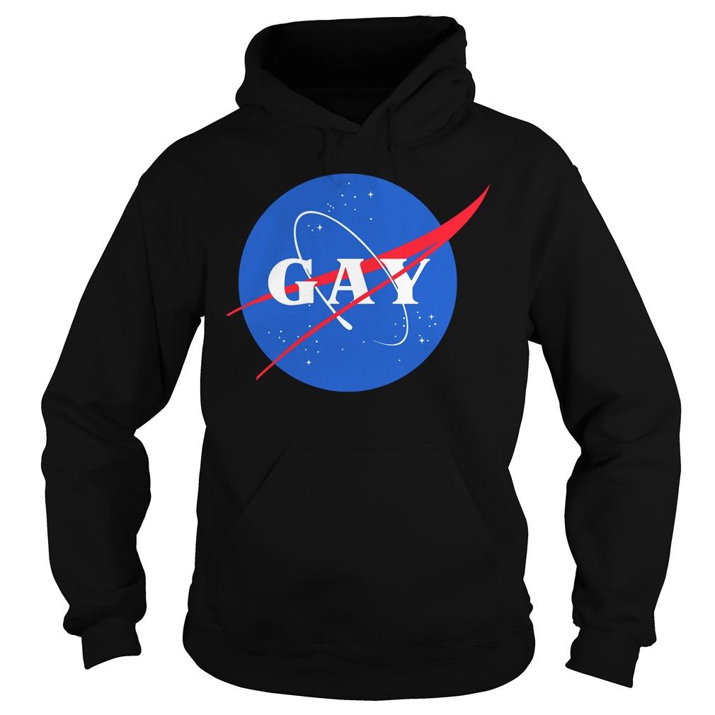 Nasa Gay pride logo shirt, hoodie, sweater and v-neck t-shirt