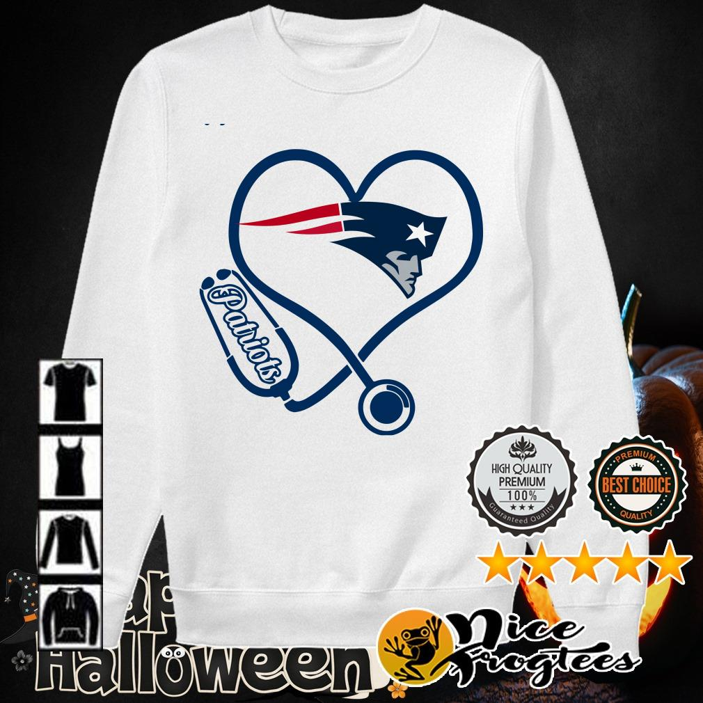 New England Patriots nurse heart shirt