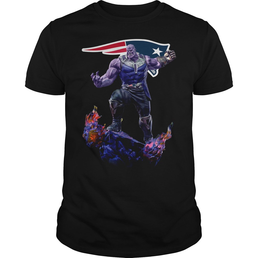New England Patriots Thanos Infinity War shirt