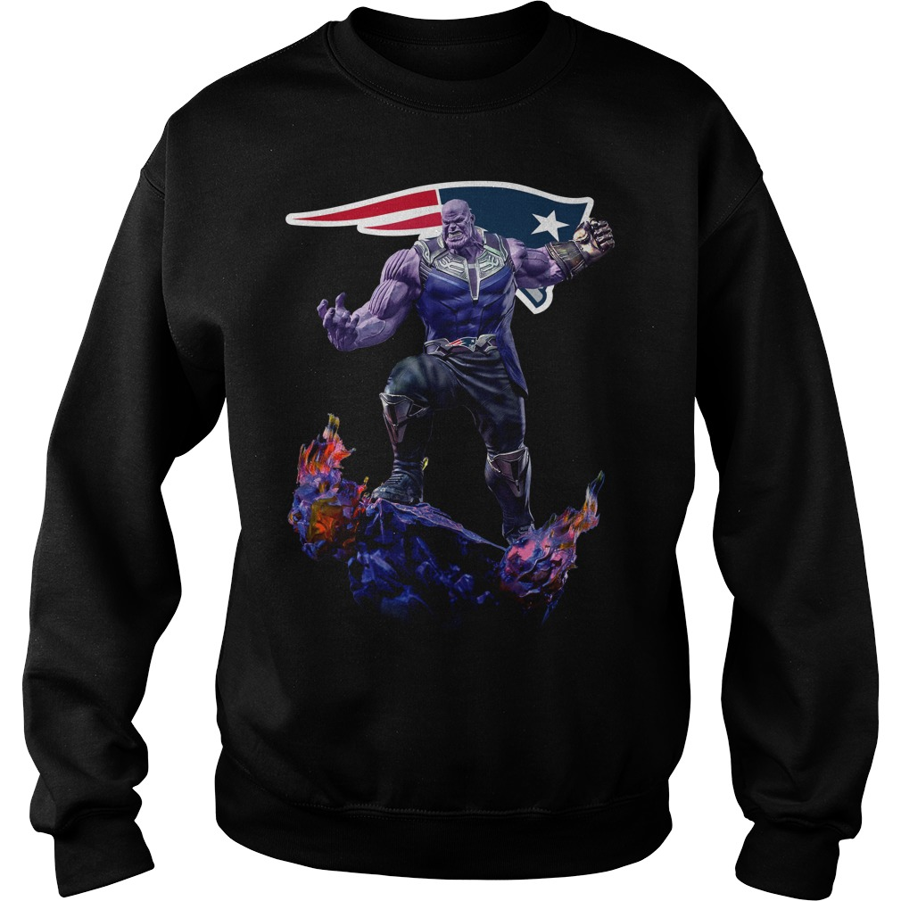 New England Patriots Thanos Infinity War Sweater
