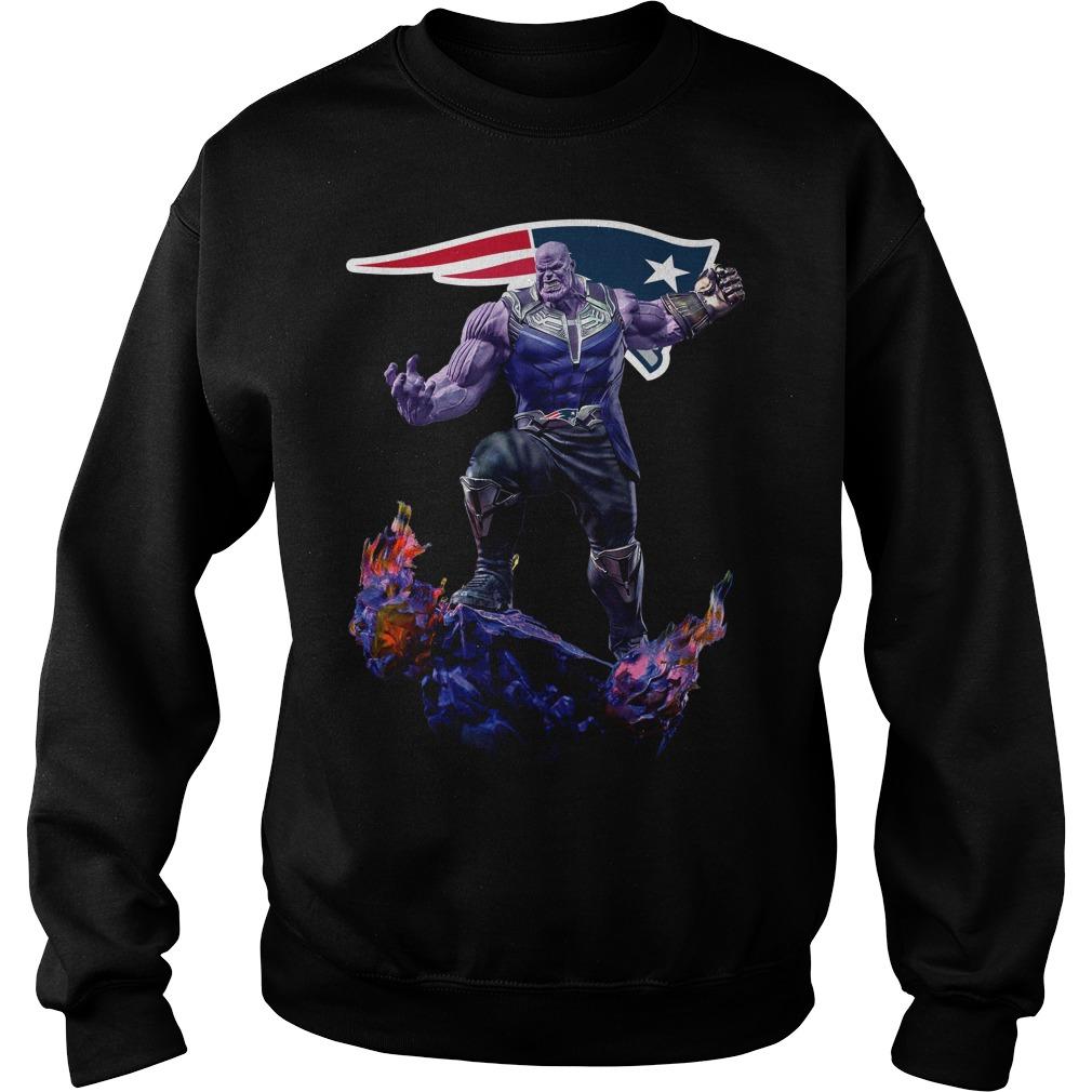 New England Patriots Thanos Infinity War Sweater