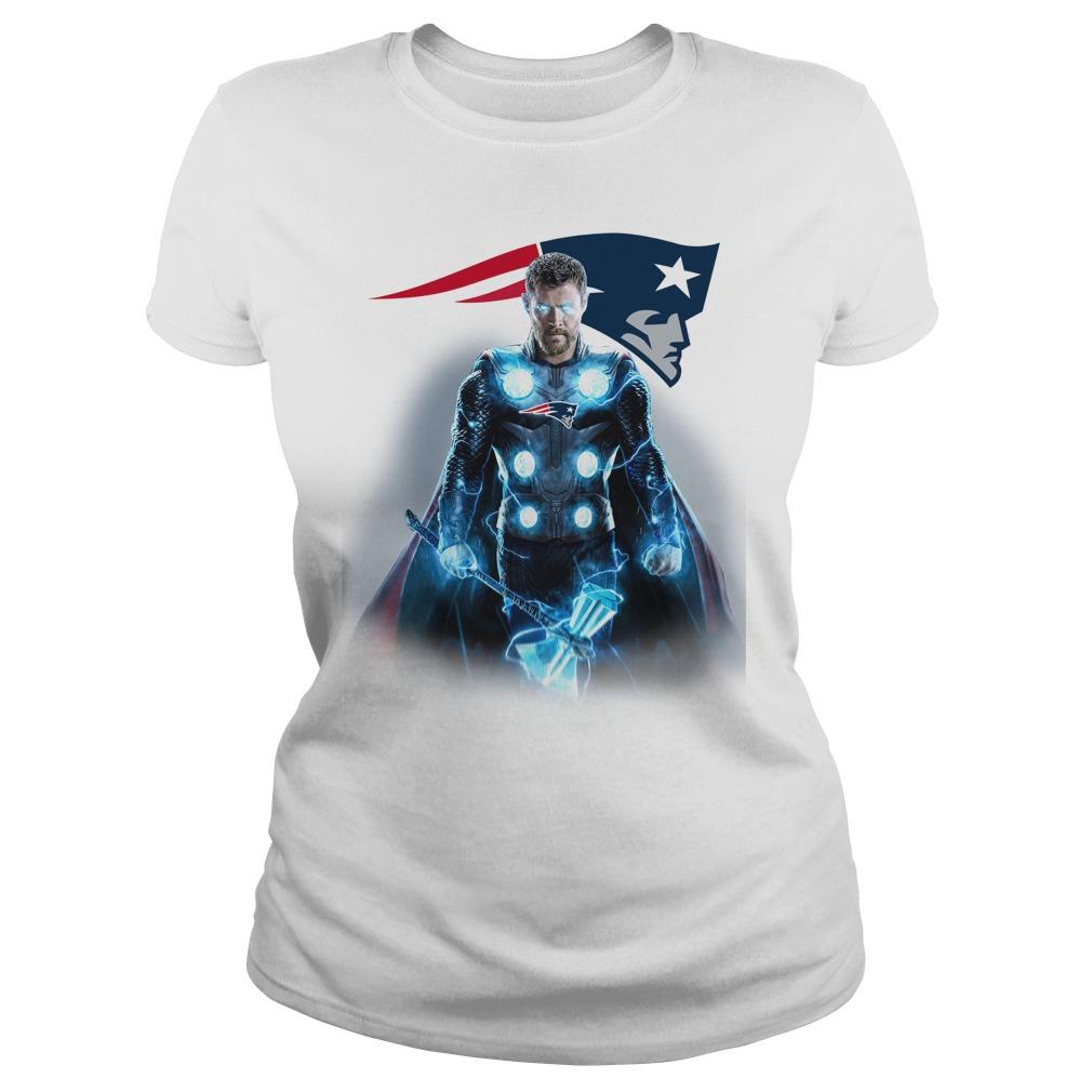 New England Patriots Thor Ladies tee