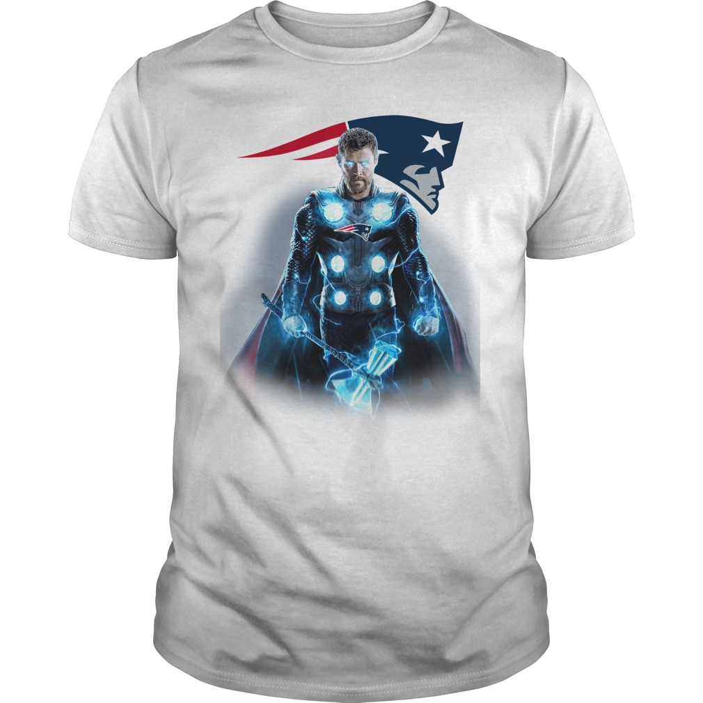 New England Patriots Thor shirt