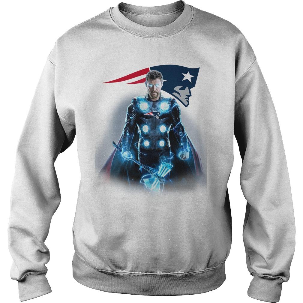 New England Patriots Thor Sweater