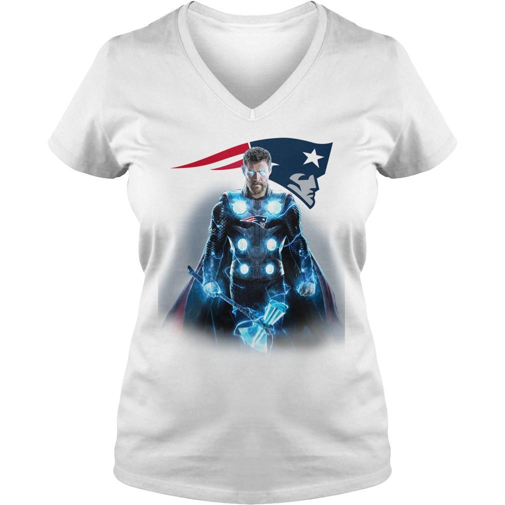 New England Patriots Thor V-neck t-shirt