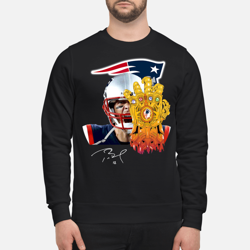 New England Patriots Tom Brady Thanos Sweater