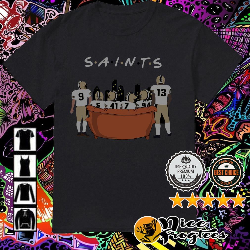 New Orleans Saints Friends TV Show shirt