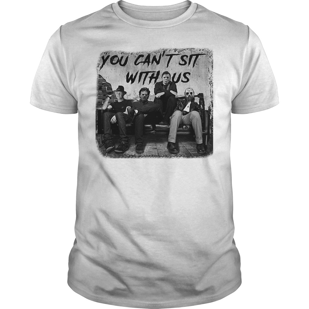 The Nightmare Ends on Halloween you can't sit with us shirt