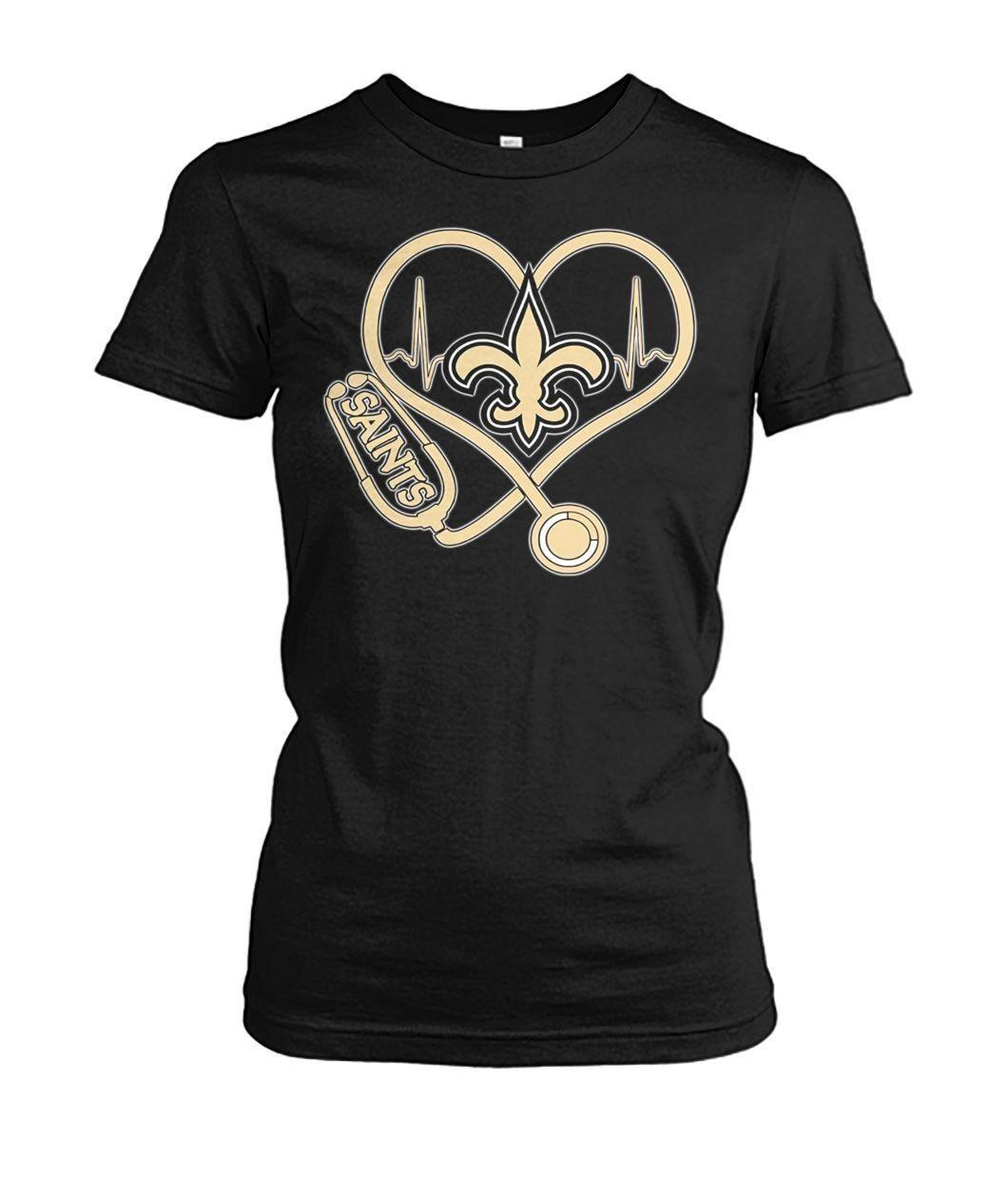 Nurse Heartbeat New Orleans Saints shirt