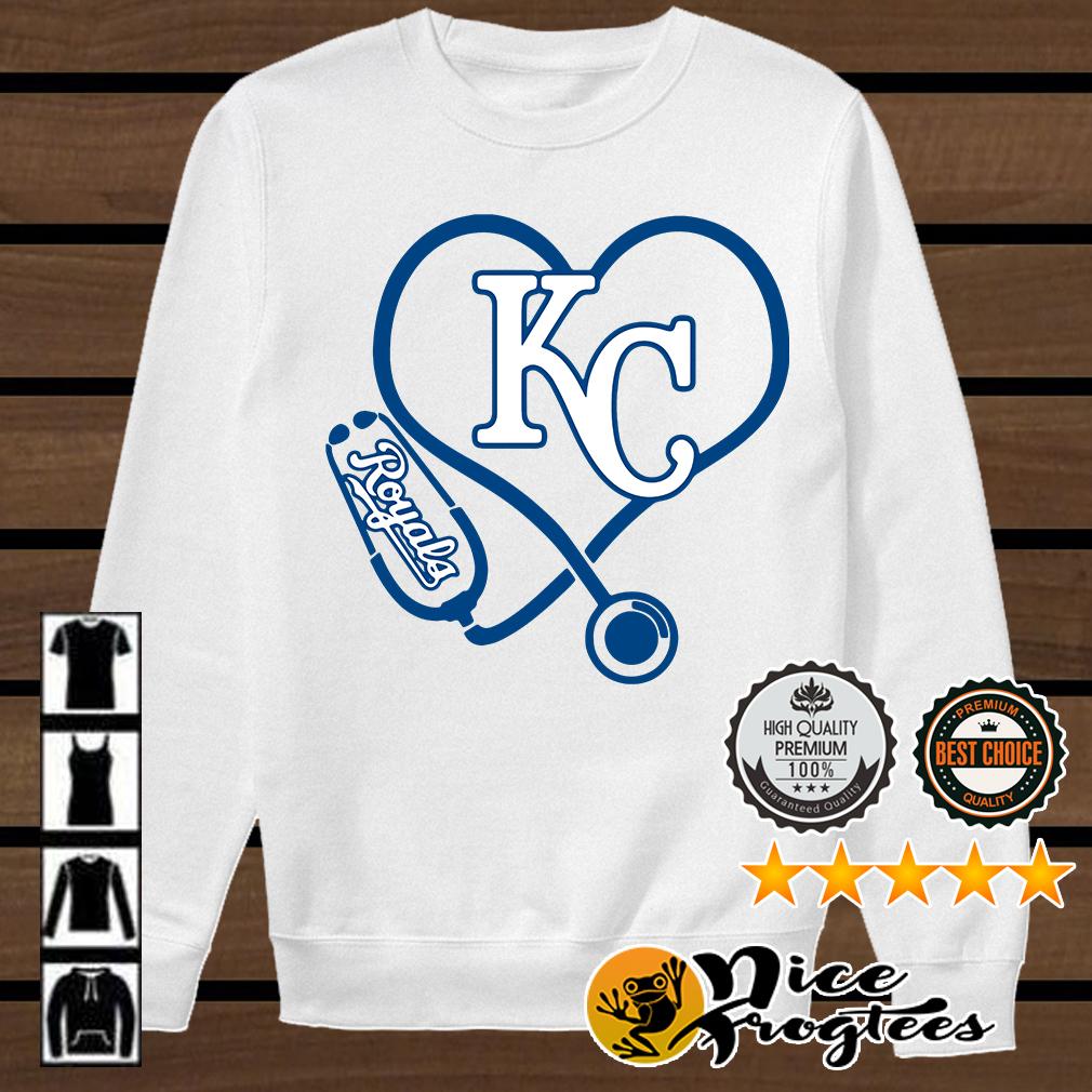 Nurse loves Kansas City Royals shirt, hoodie, sweater and