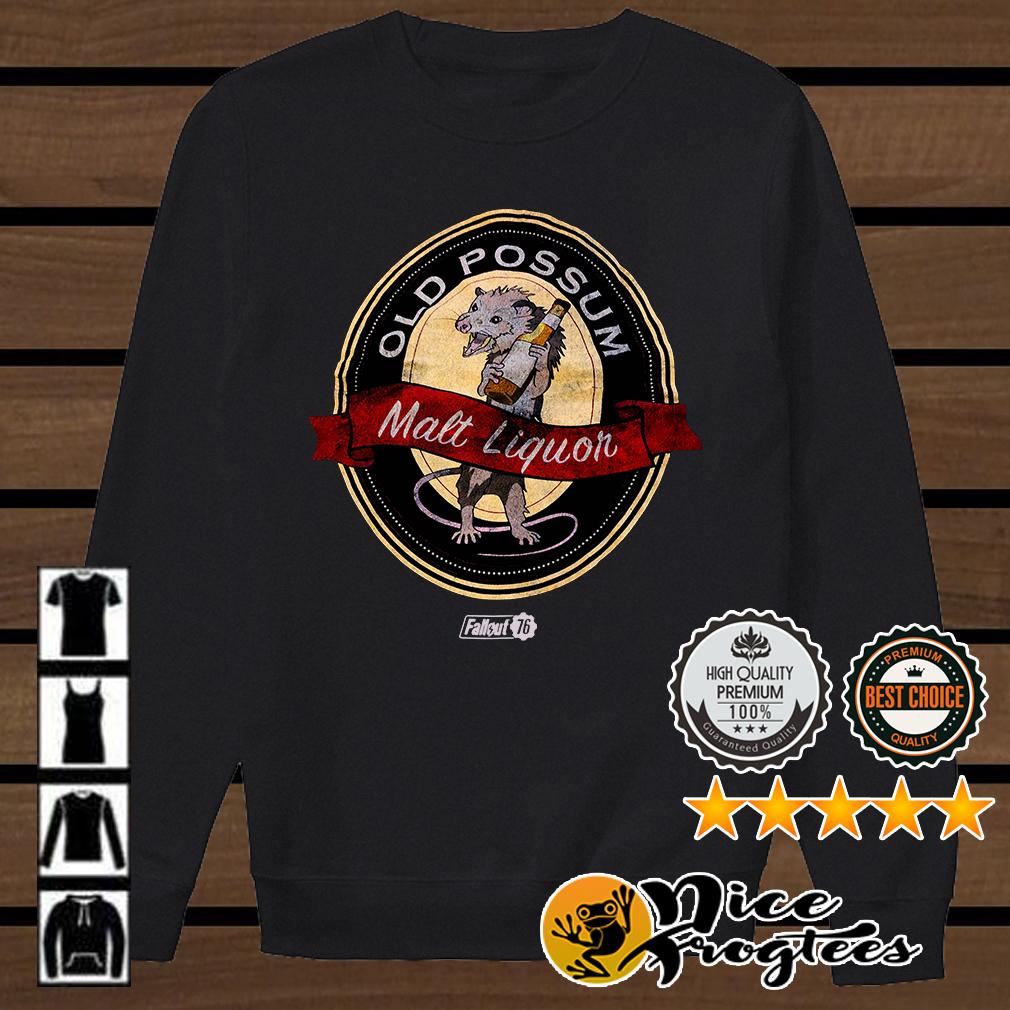 Old possum Malt Liquor Fallout 76 shirt