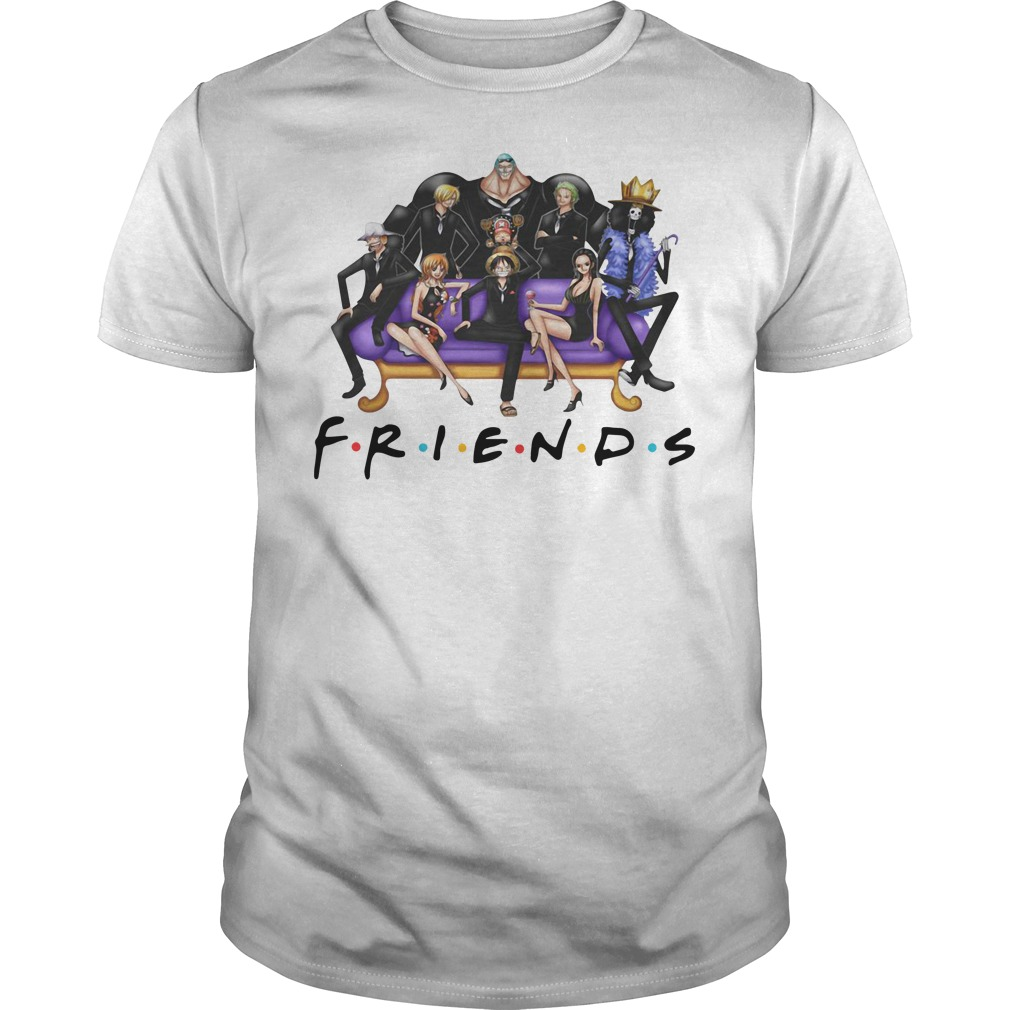 One Piece Friends shirt