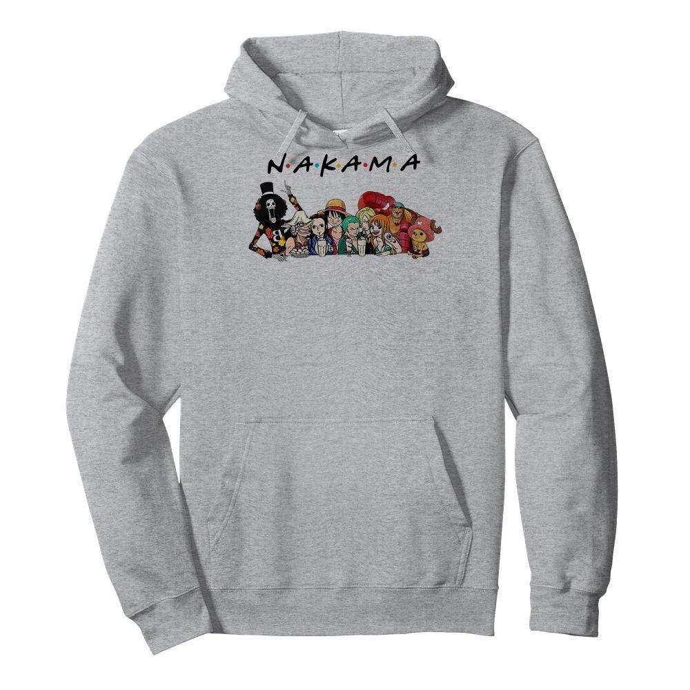 One Piece Nakama Friends Hoodie